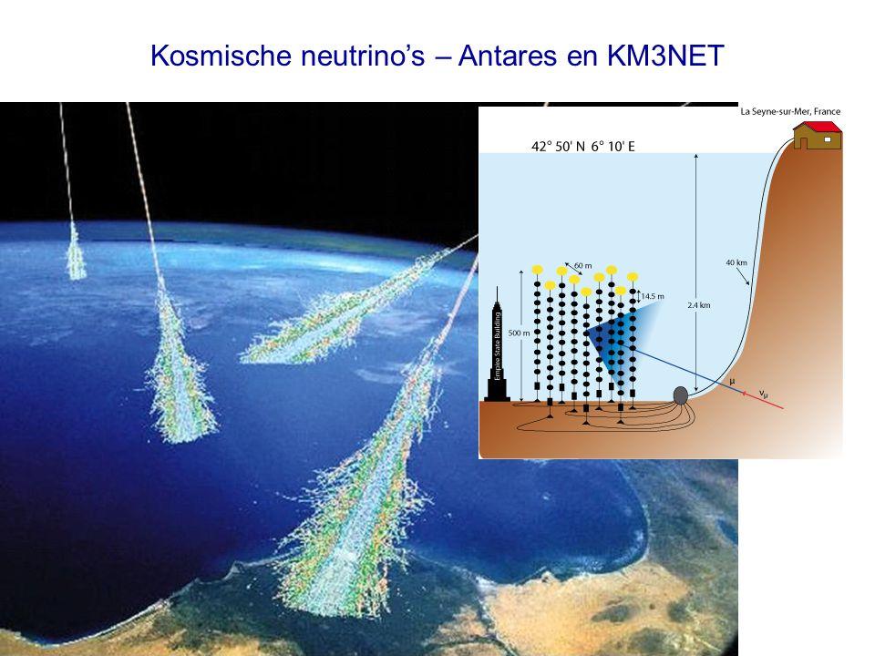 Kosmische neutrino's – Antares en KM3NET