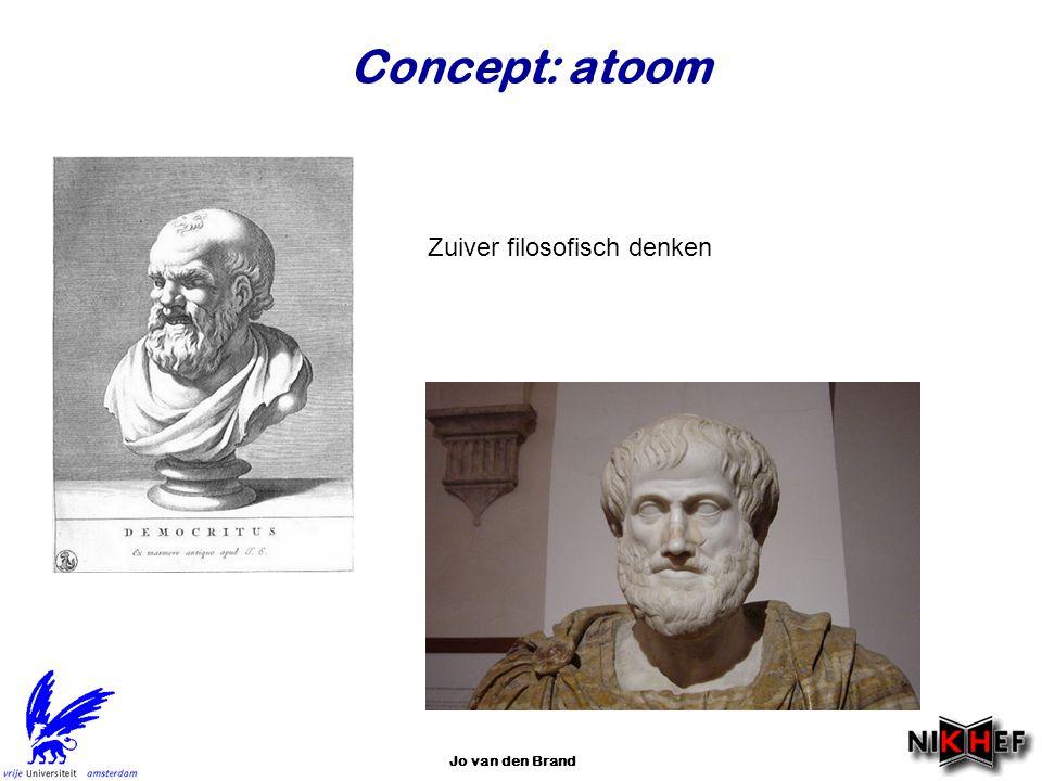 Jo van den Brand Concept: atoom Zuiver filosofisch denken