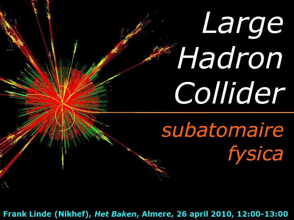 deeltjesfysica jagen op deeltjes