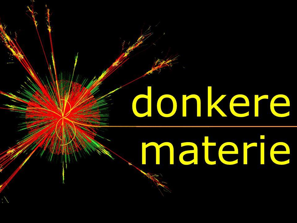 deeltjesfysica uitdagingen:  donkere materie  Higgs ······