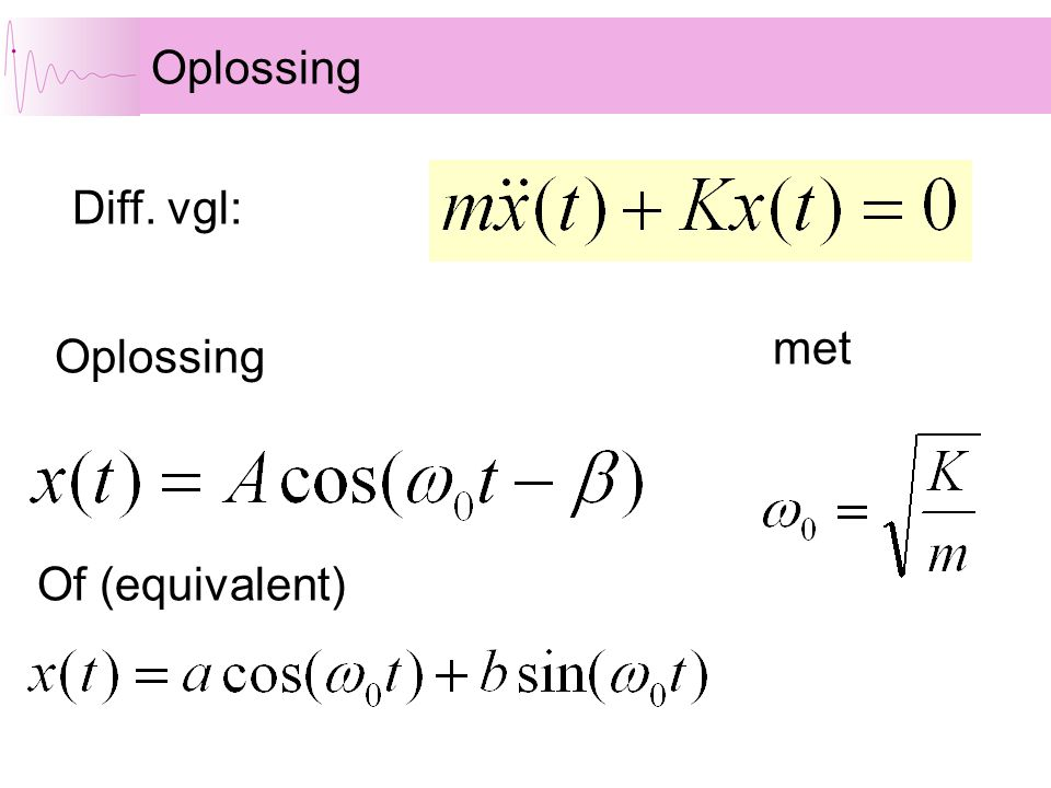 Oplossing met Diff. vgl: Of (equivalent)
