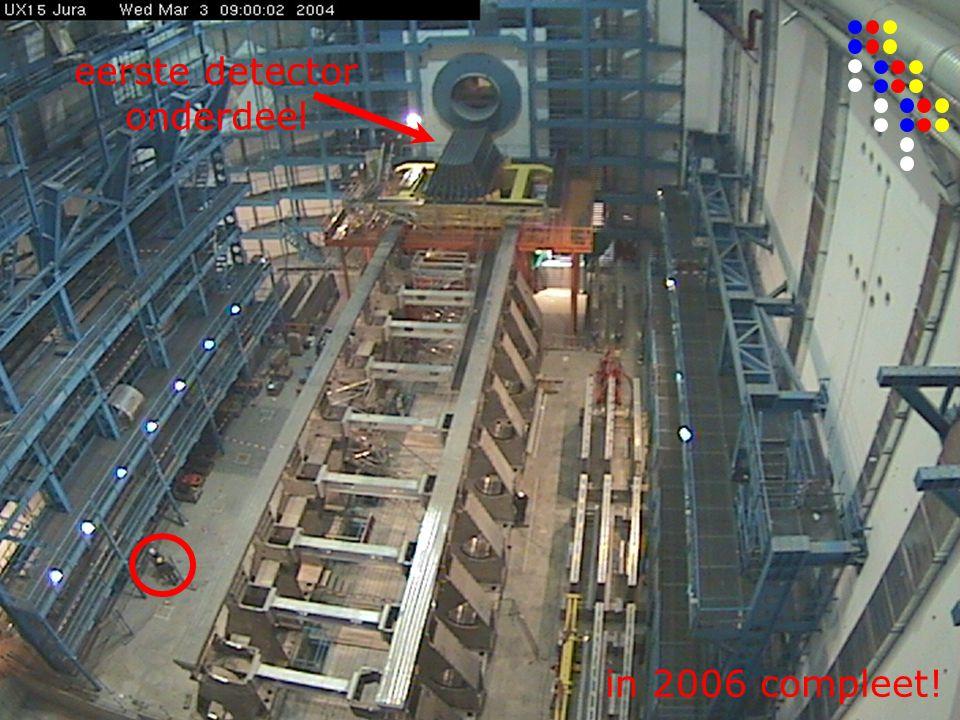 eerste detector onderdeel in 2006 compleet!