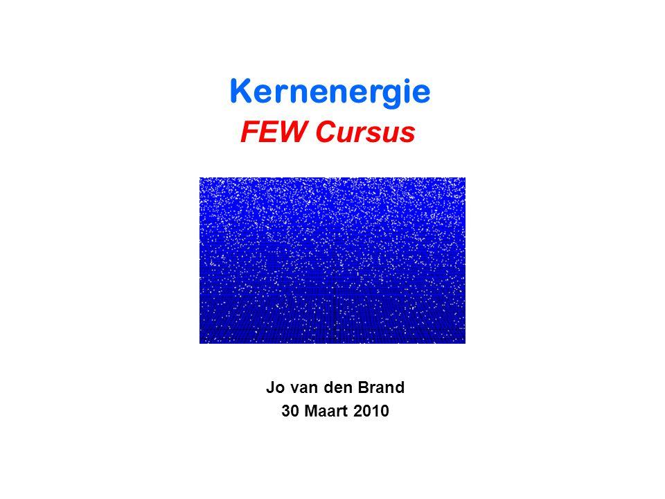 Voorjaar 2010Jo van den Brand42 Proton structuur - niet puntvormig - geen Dirac deeltje (g=2) - straal is 0.8 fm - exponentiele vormfactor Elastische elektron-proton verstrooiïng