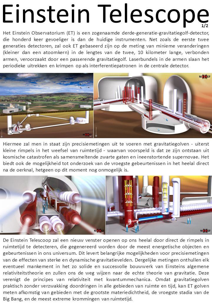 Einstein Telescope Nederland draagt bij aan de selectie van de locatie en de benodigde infrastructuur.