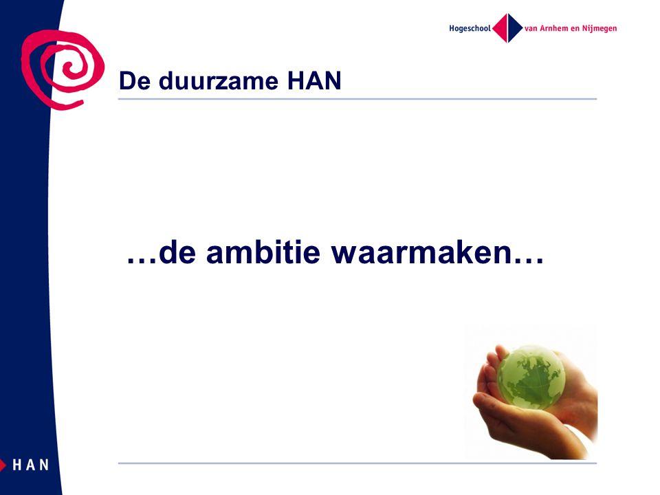 Energiegebruik HAN vs.