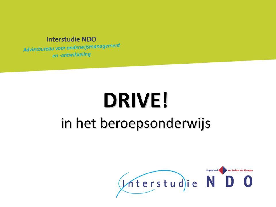 DRIVE! in het beroepsonderwijs
