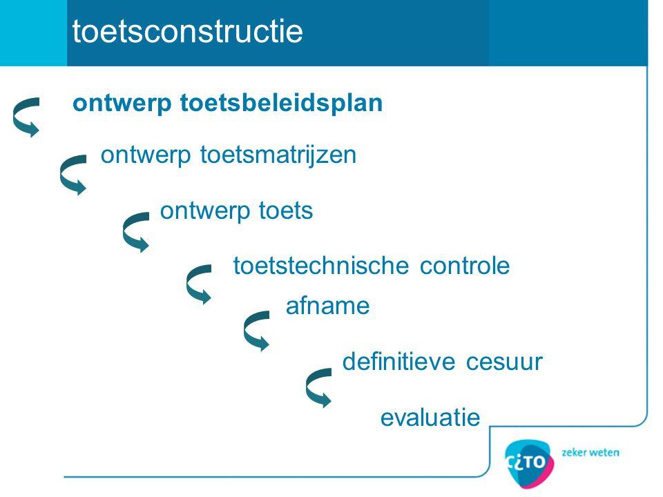 toetsconstructie overeenstemming over de werkwijze