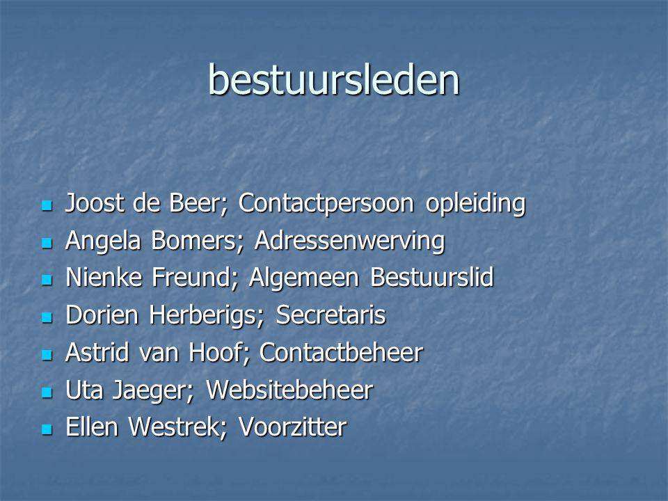 Doelgroep Doelgroep: alle afgestudeerden van de opleiding logopedie aan de Hogeschool van Arnhem en Nijmegen, ook als zij niet meer werkzaam zijn als logopedist.