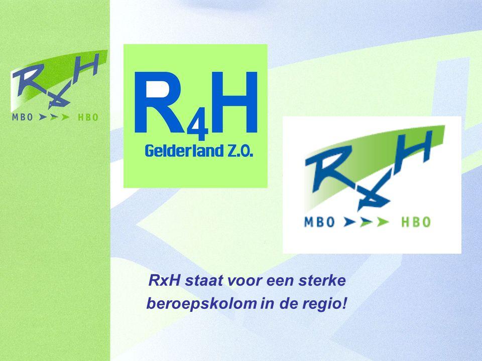 RxH staat voor een sterke beroepskolom in de regio!