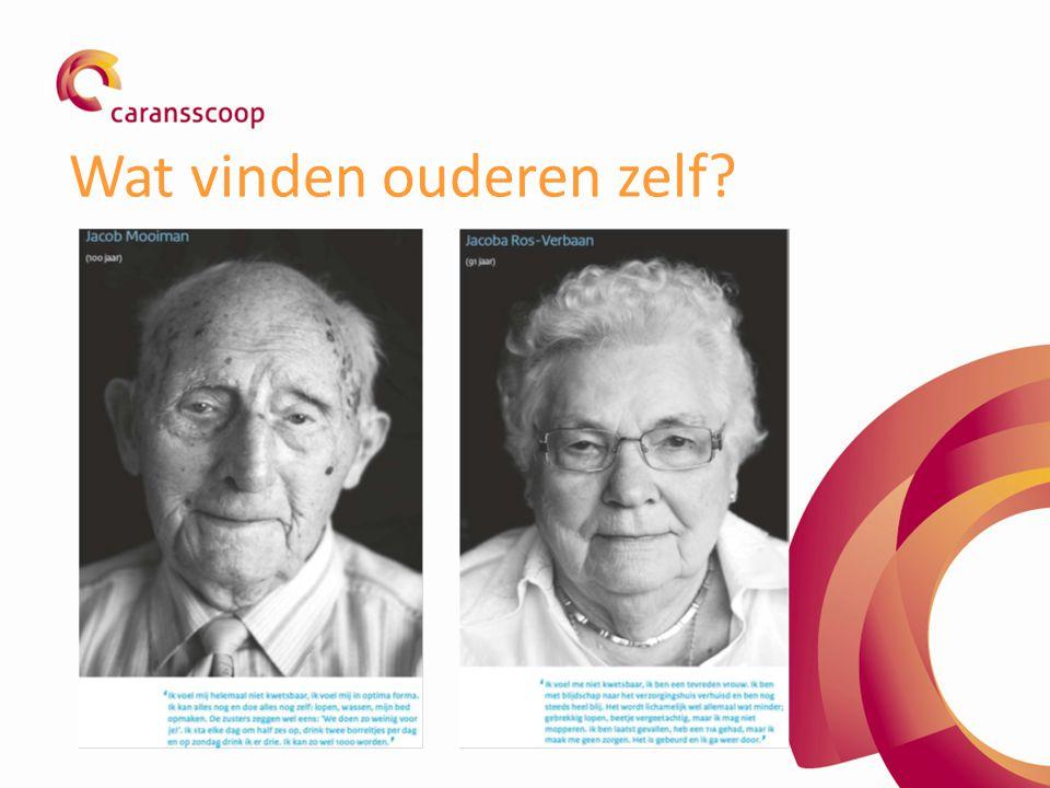 Wat vinden ouderen zelf?