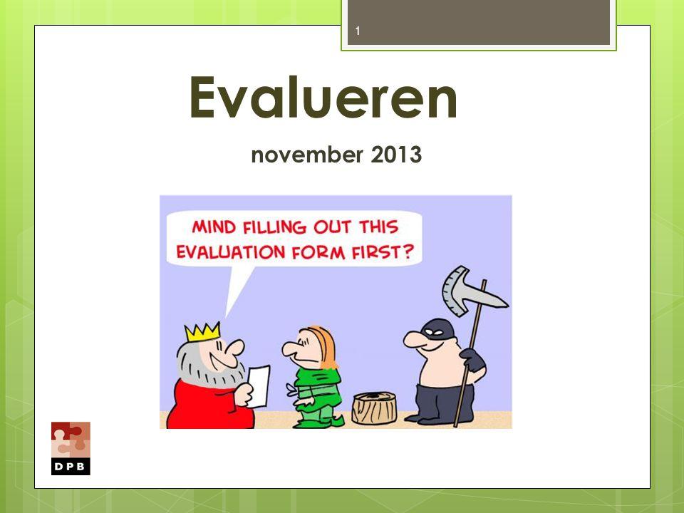 DW en Proefwerk 22 Op DW wordt kennis opgevraagd (ook vaardigheden komen aan bod).