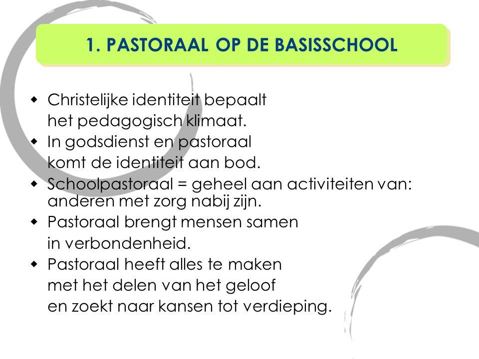 1.Algemeen 2.Aantal cursussen 3.Algemene principes 4.Knelpunten 5.Bijzondere pedagogische taken 13.