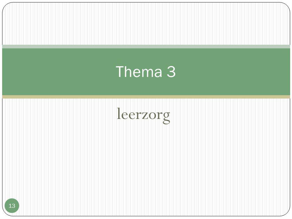 leerzorg 13 Thema 3