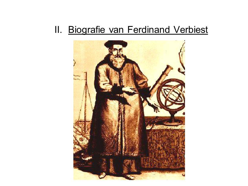 II.Biografie van Ferdinand Verbiest