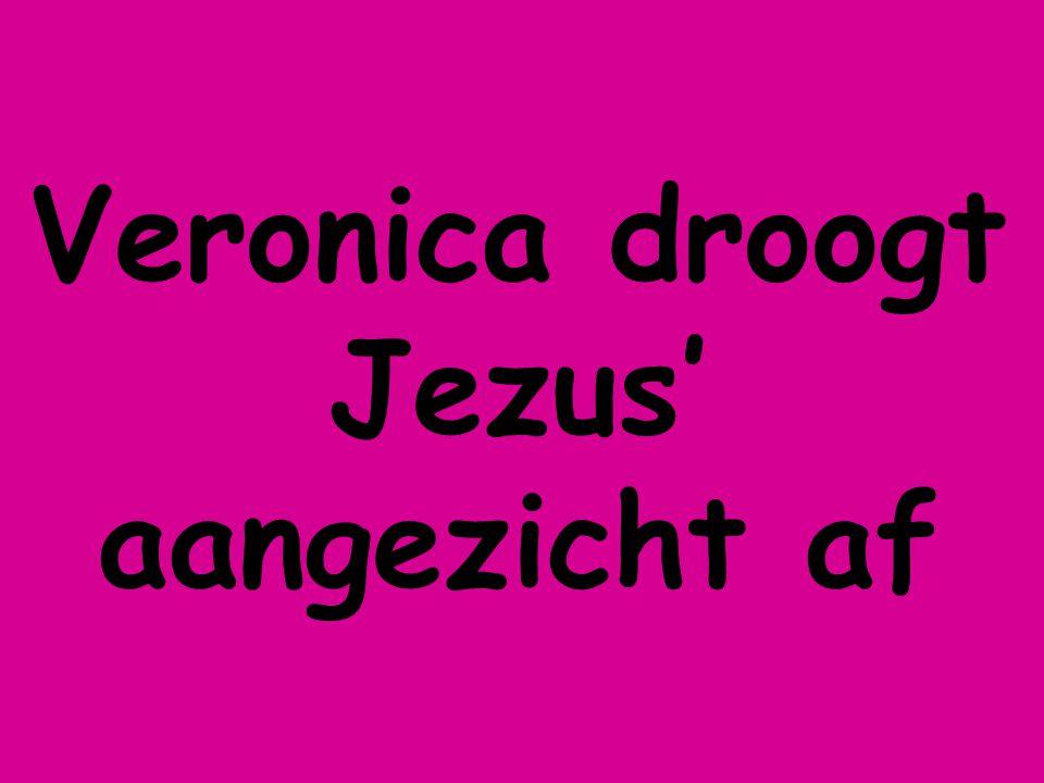 Veronica droogt Jezus' aangezicht af