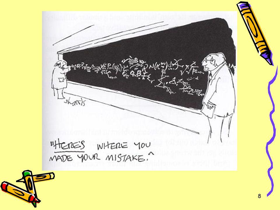 9 Problemen met het leerplan Situering Leerplan als interpretatie –Probleem: vaagheid –Voorbeelden Bewerkingen met gehele getallen (-2).