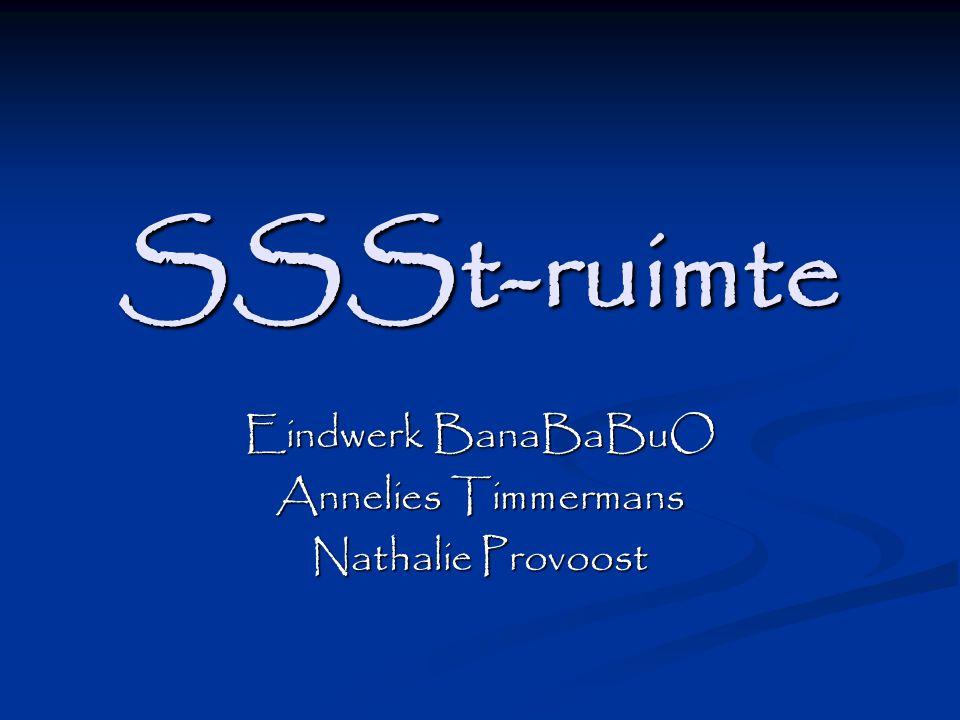 SSSt-ruimte Eindwerk BanaBaBuO Annelies Timmermans Nathalie Provoost