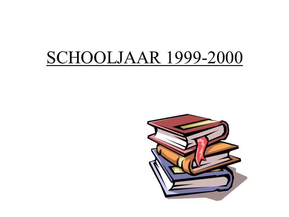 SCHOOLJAAR 1999-2000