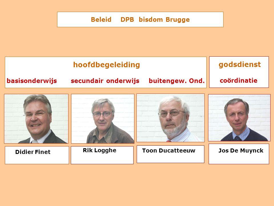 Beleid DPB bisdom Brugge hoofdbegeleiding basisonderwijs secundair onderwijs buitengew.