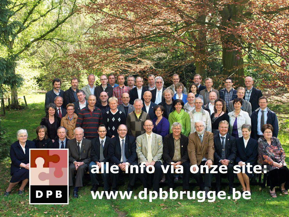 alle info via onze site: www.dpbbrugge.be