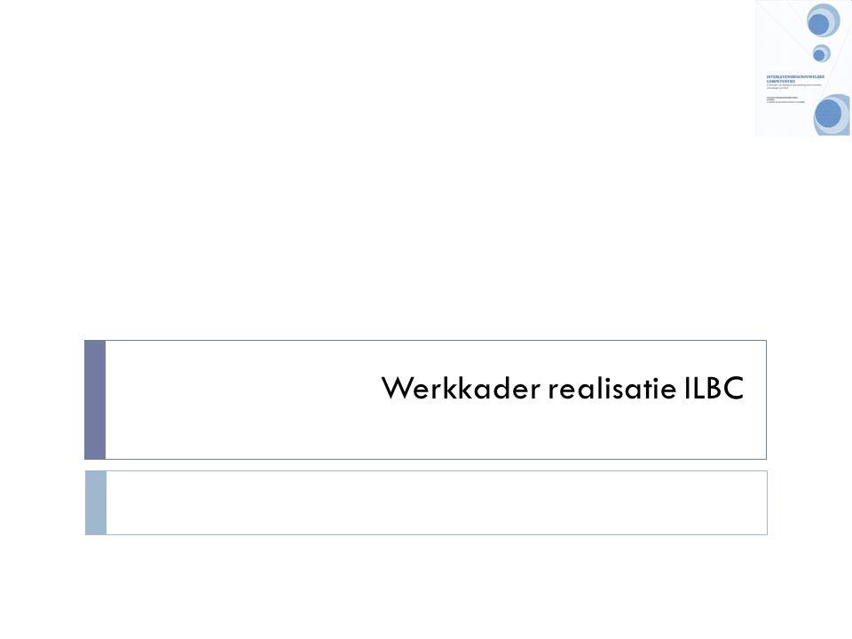 Werkkader realisatie ILBC