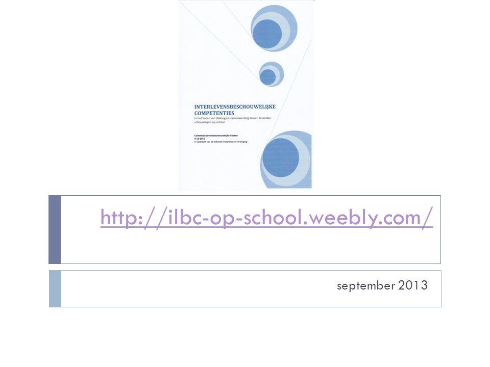http://ilbc-op-school.weebly.com/ september 2013