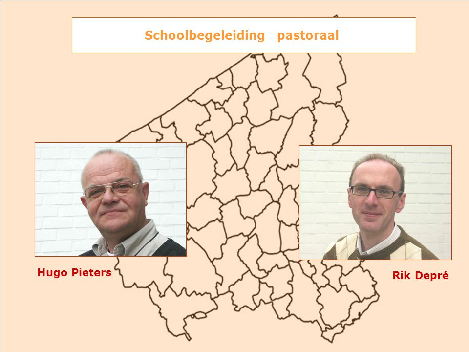 Hugo Pieters Rik Depré Schoolbegeleiding pastoraal