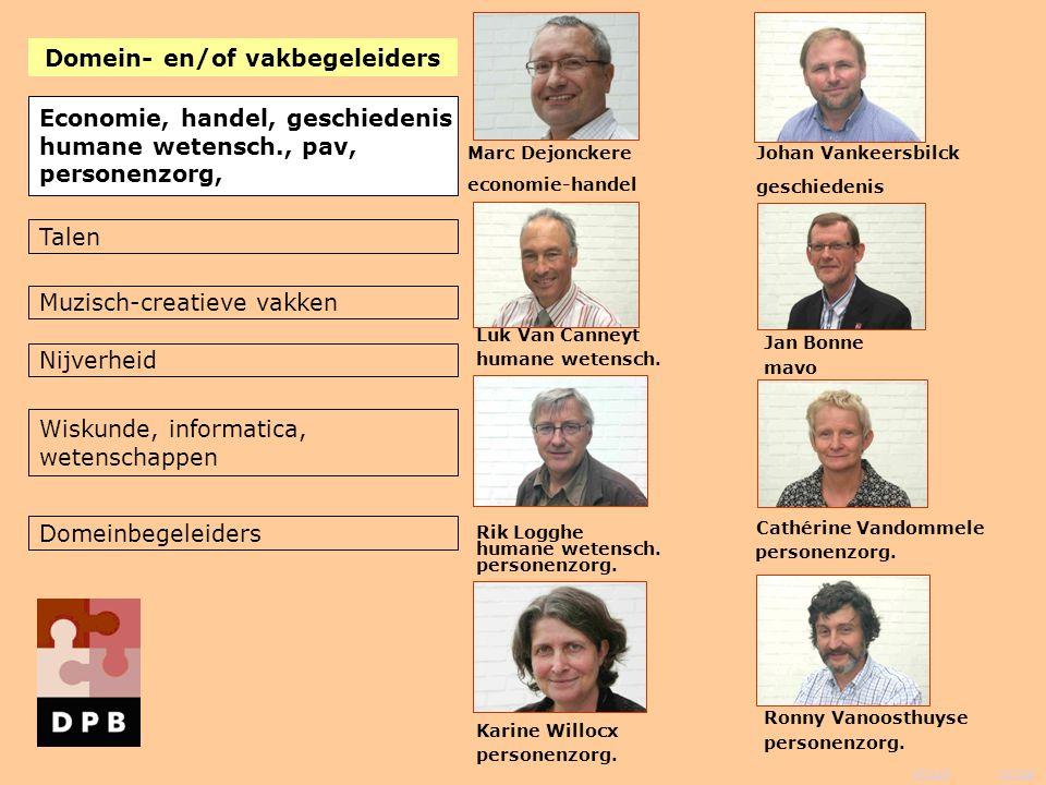 vorige inhoud Johan Vankeersbilck Luk Van Canneyt Marc Dejonckere economie-handel mavo geschiedenis Economie, handel, geschiedenis humane wetensch., p