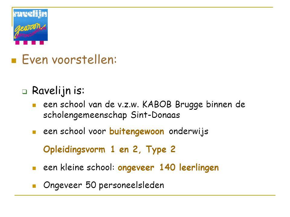 Korte voorstelling van BGV door alle aanwezige scholen:  Wie is wie.