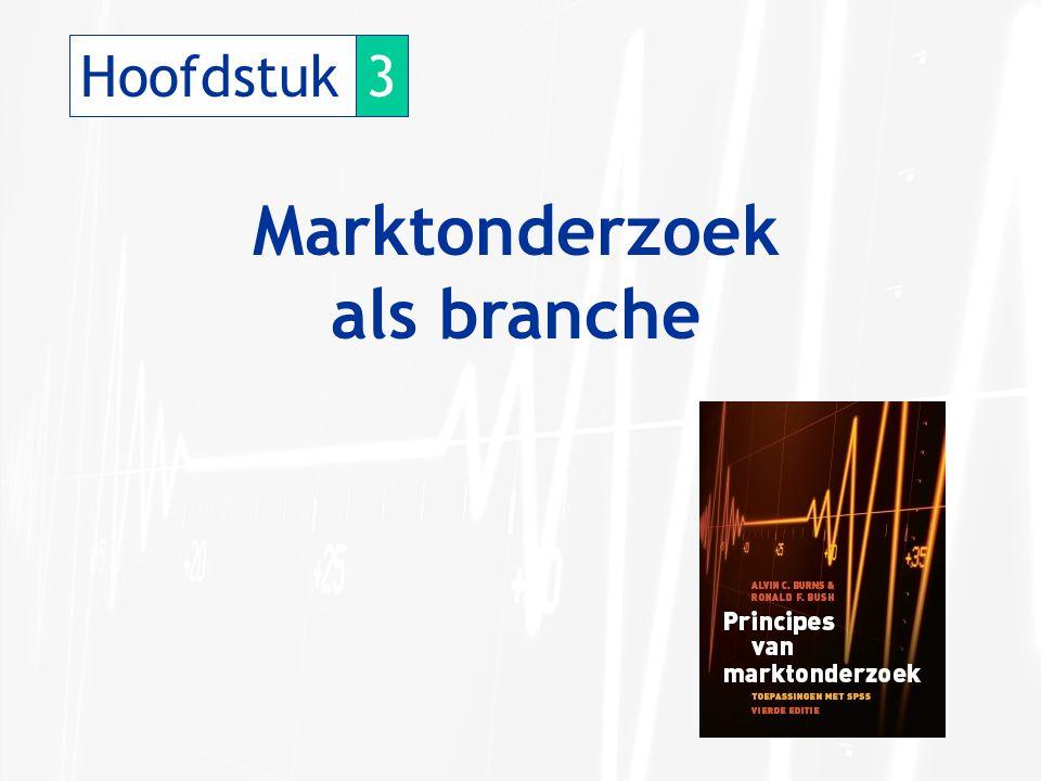 Hoofdstuk3 Marktonderzoek als branche