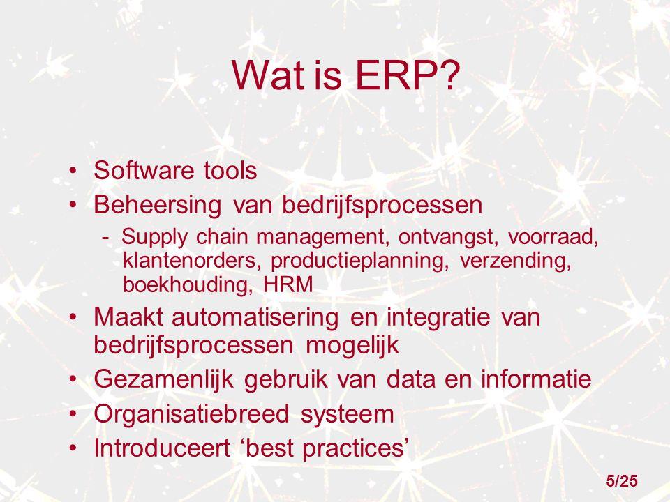 Wat is ERP.