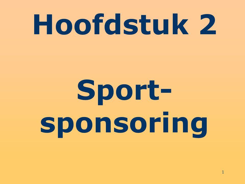 22 Schema 2.7 Stappenplan voor sponsorwerving