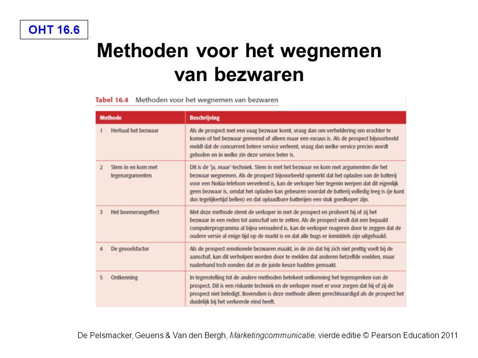 OHT 16.17 De Pelsmacker, Geuens & Van den Bergh, Marketingcommunicatie, vierde editie © Pearson Education 2011