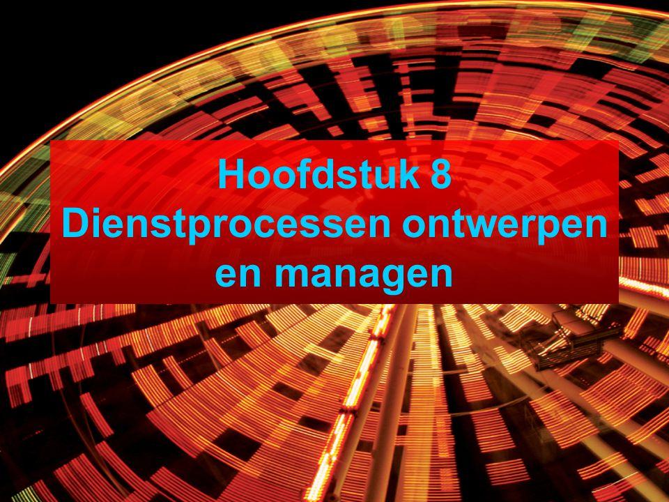 Hoofdstuk 8 Dienstprocessen ontwerpen en managen