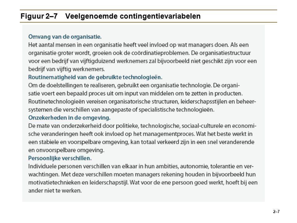 2–8 Figuur 2–8Mate van verwikkeling in e-business