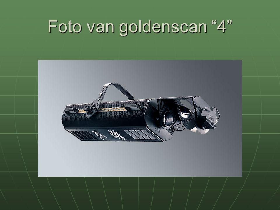 """Foto van goldenscan """"4"""""""