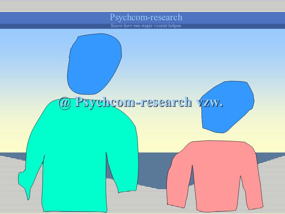 Psychcom-research Know-how een stapje vooruit helpen. Als jij je kind aantrekt en stimuleert tot ontwikkeling, trekt je kind je aan en krijg je meer k