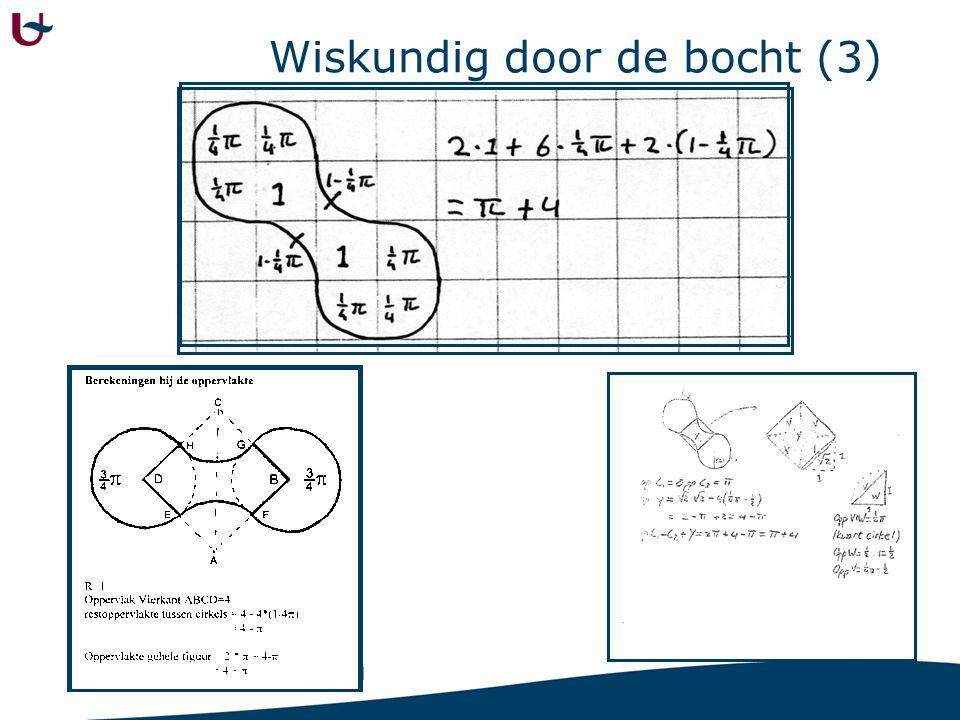 Wiskundig door de bocht (3)