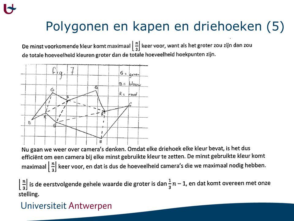 Polygonen en kapen en driehoeken (5)