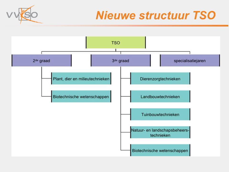 Nieuwe structuur TSO
