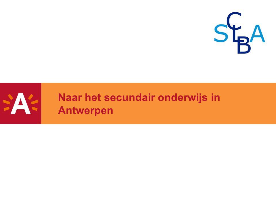 Naar het secundair onderwijs in Antwerpen