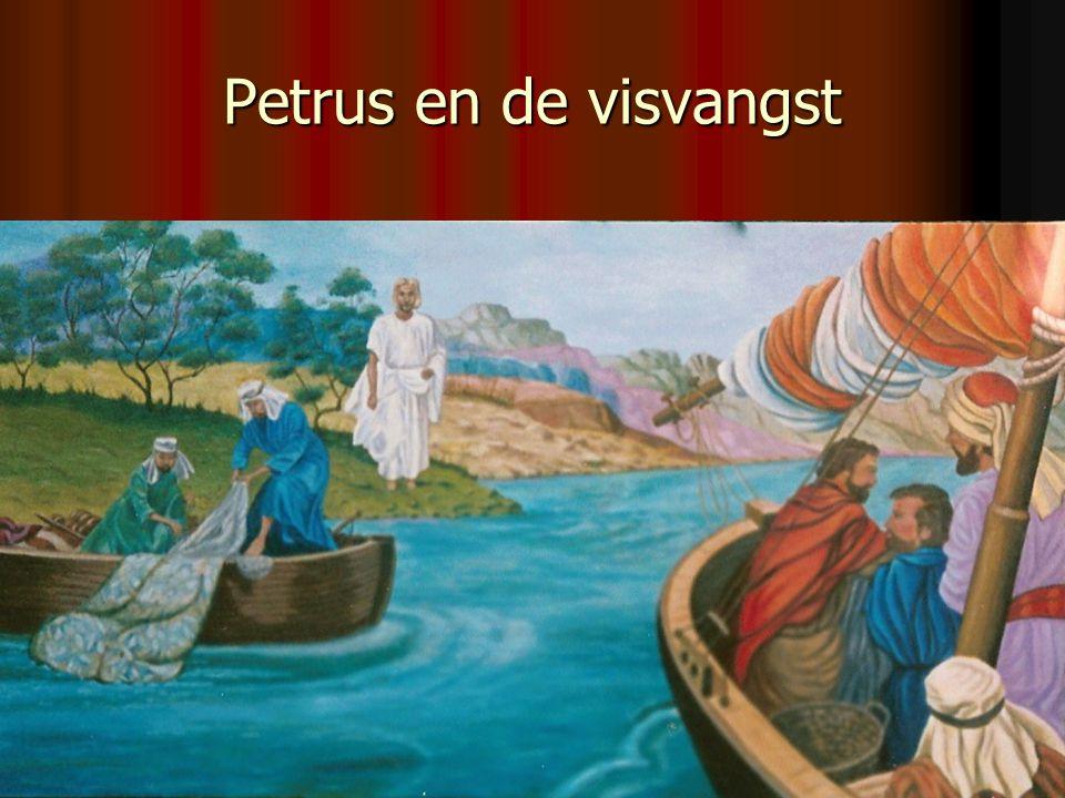 Petrus en de visvangst