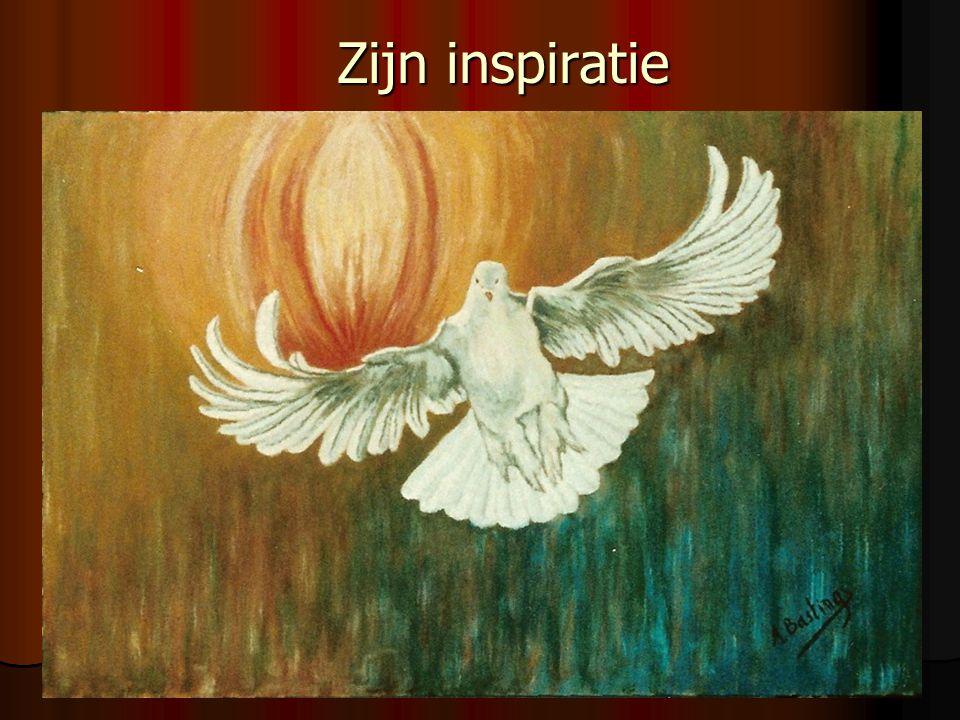 Zijn inspiratie