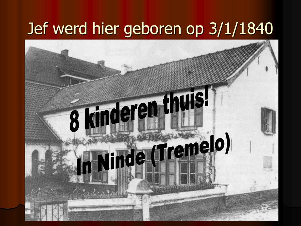 1936: zijn lichaam wordt begraven in Leuven