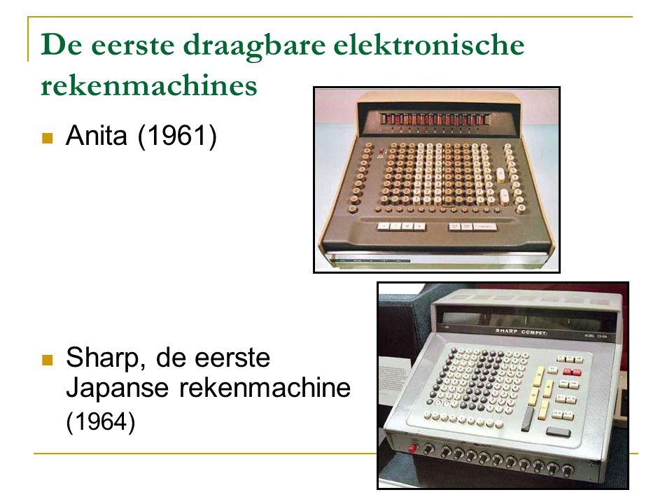 De eerste programmeerbare rekenmachine Monroe Epic 3000 (1967)