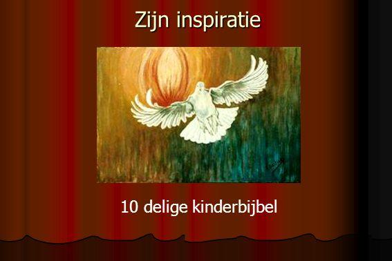 Zijn inspiratie 10 delige kinderbijbel