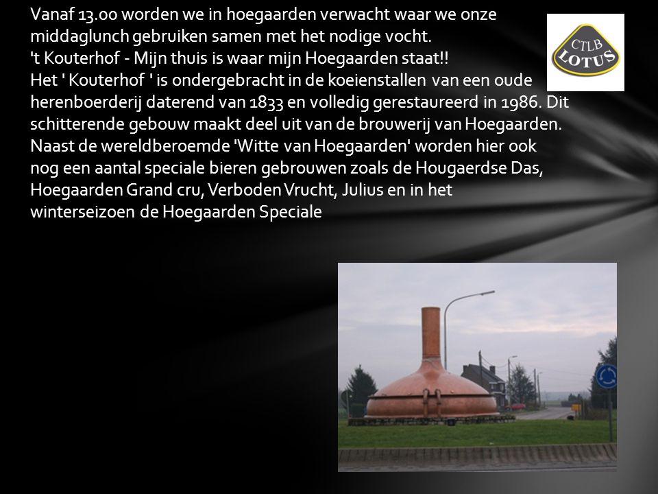 Na de middag onderbreking gaan we door met Brabant te verkennen, ditmaal bij onze waalse Brabantse vrienden.