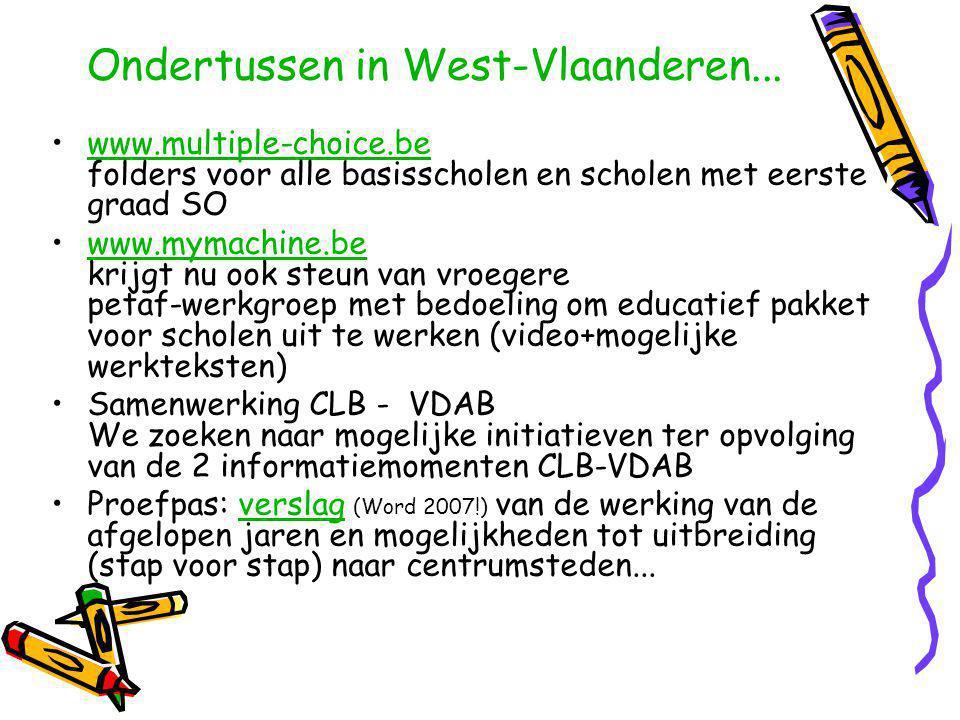 Ondertussen in West-Vlaanderen...