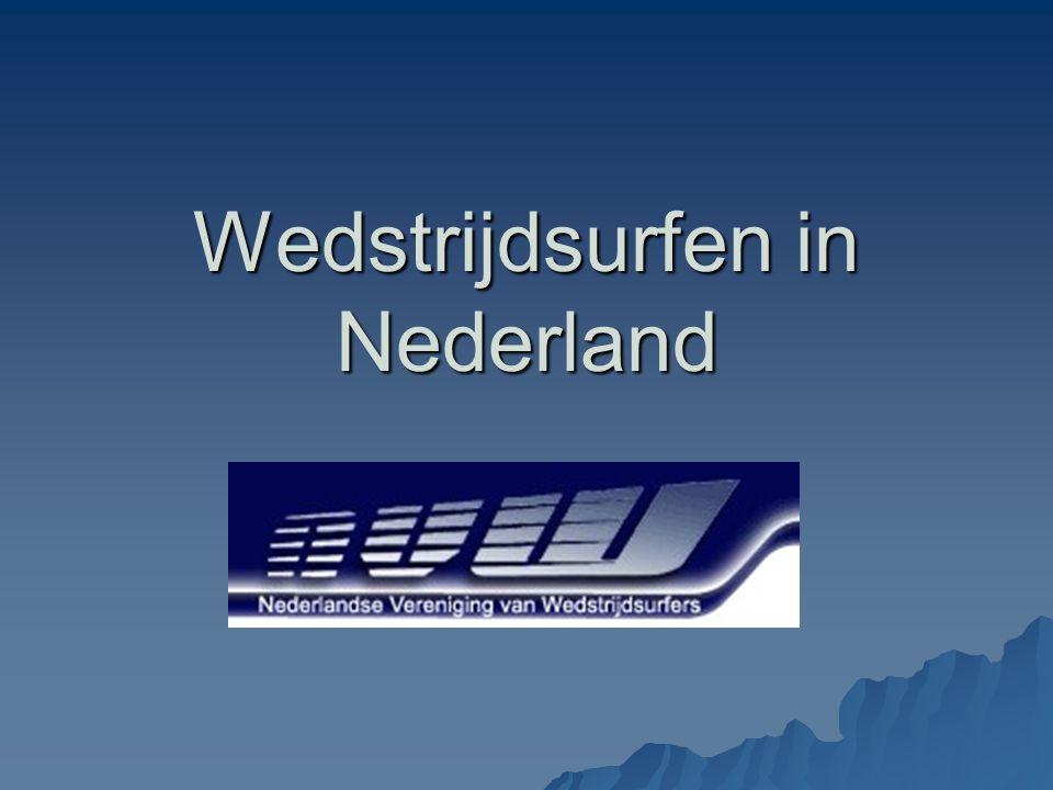 Wedstrijdsurfen in Nederland