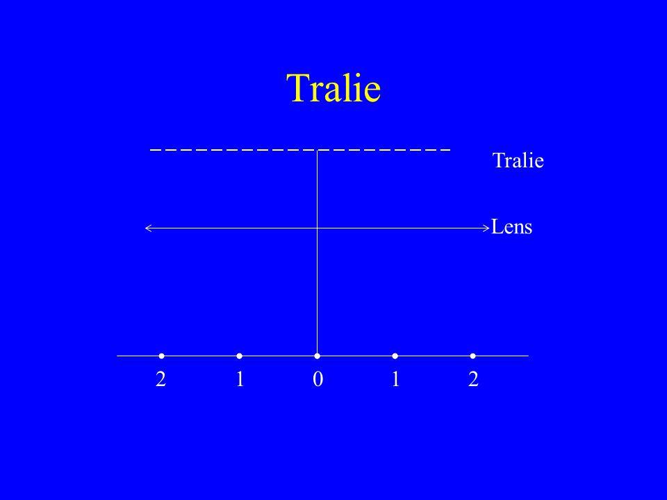 Tralie Lens 21012